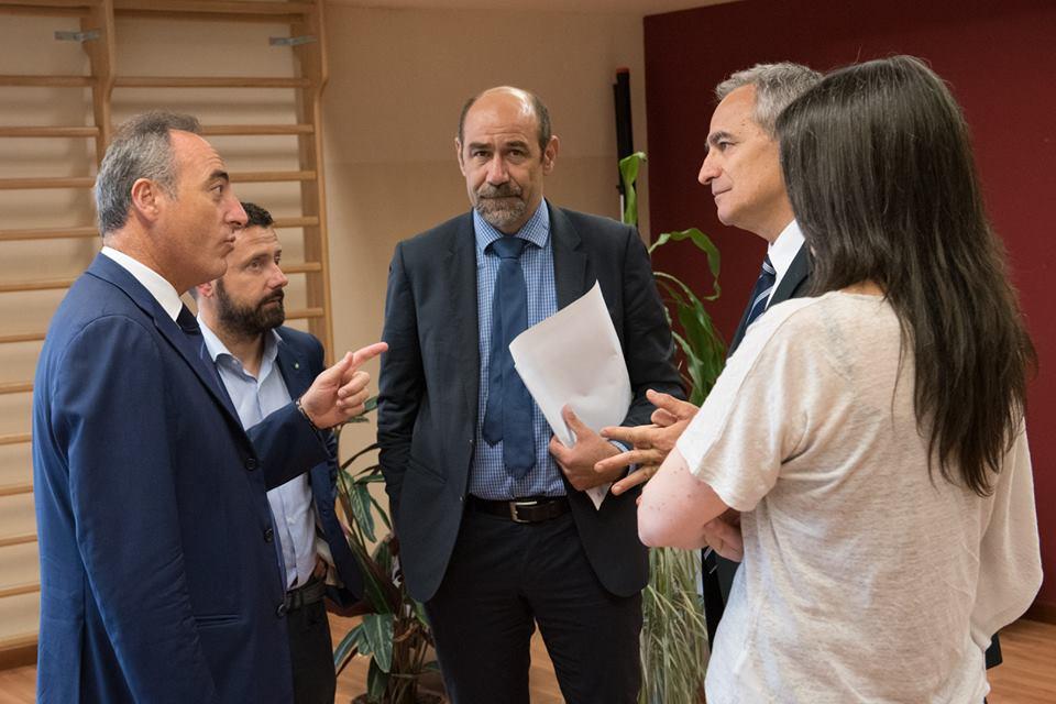 L'Ass. Giulio Gallera visita Politerapica per parlare di Medicina Vicina, Incontinenza e Parkinson