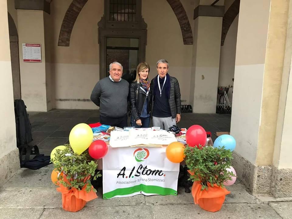 A.I.Stom in piazza a Treviglio. Ancora Oreste Risi