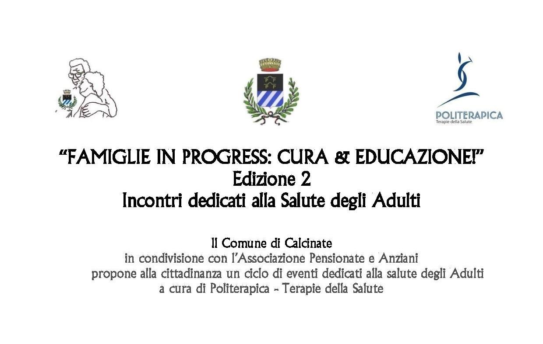 Salute senza età a Calcinate: <br/> informazione e prevenzione con Politerapica, soprattutto sui problemi pelvici.