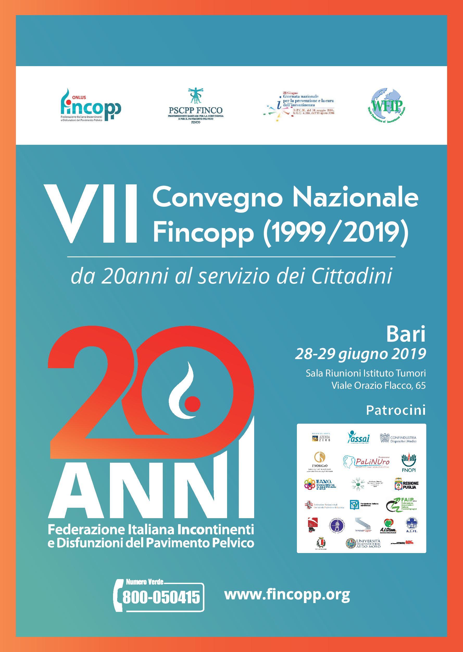 Fincopp compie 20 anni! Un convegno per fare il punto e impostare i prossimi 20.