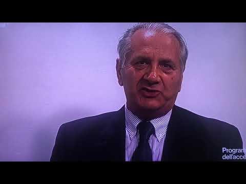 14.6.2019 RAI Puglia: il Cav. Francesco Diomede racconta l'incontinenza.