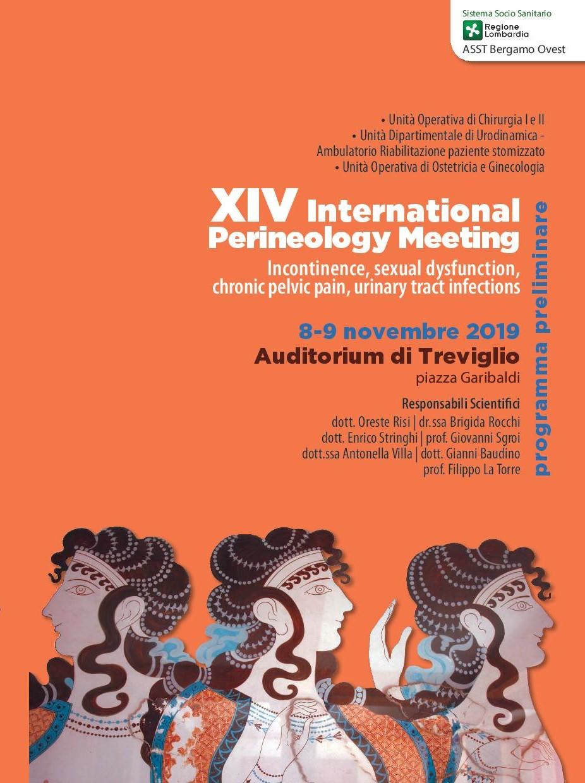 E' confermato: Fincopp tra i protagonisti del XIV International Perineology Meeting Incontinence di Treviglio