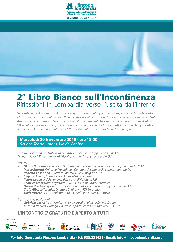 Il 2° Libro Bianco sull'Incontinenza <br/>convegno a Seriate