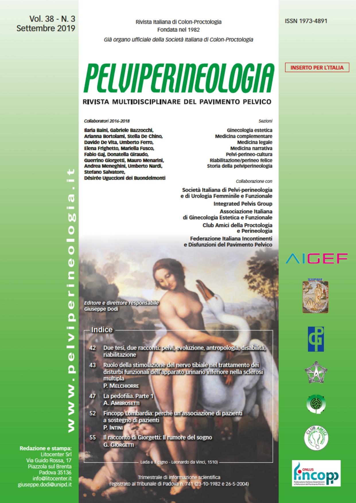 Fincopp su Pelviperineologia: perché un'associazione di pazienti.