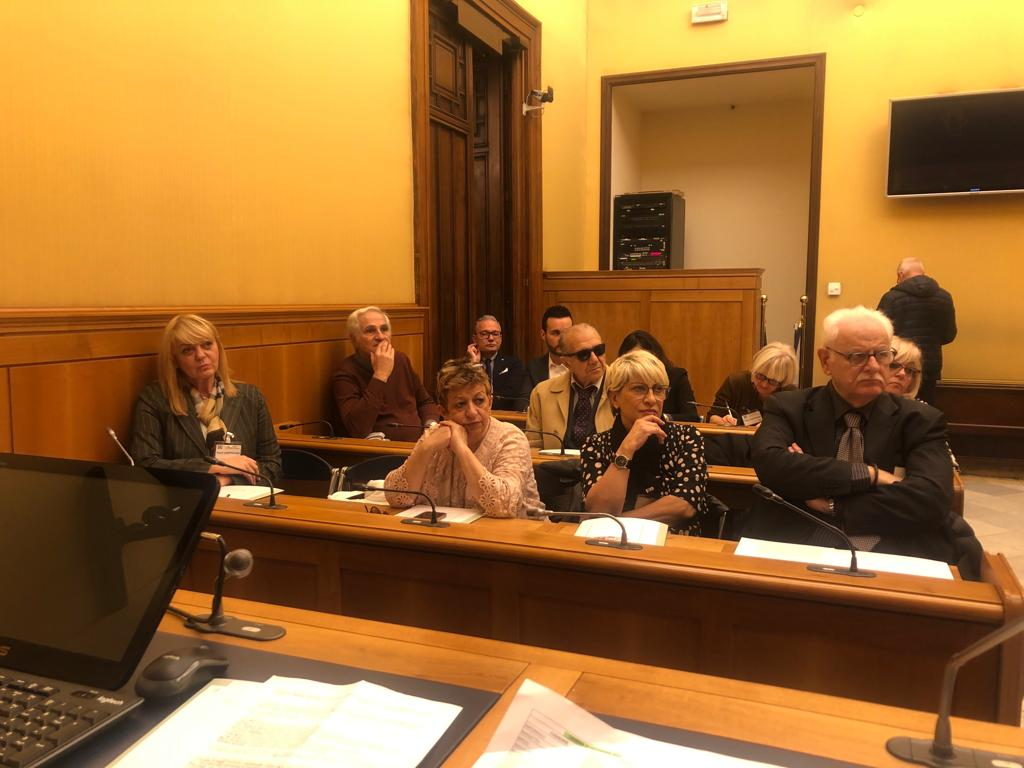Camera dei Deputati - 20.11.2019 - Conferenza stampa legge incontinenza