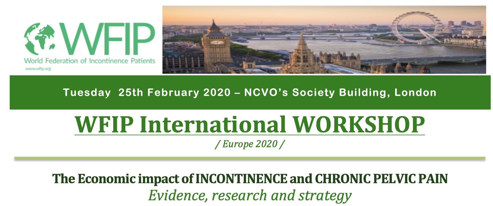 WFIP UK Workshop, London, 25th February
