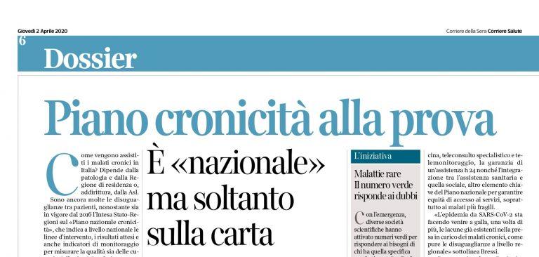 Su Corriere Salute