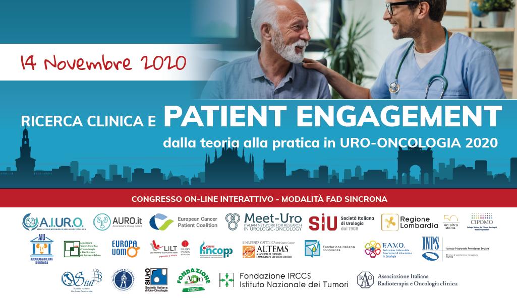 Ricerca clinica e Patient Engagement - 14 Novembre 2020